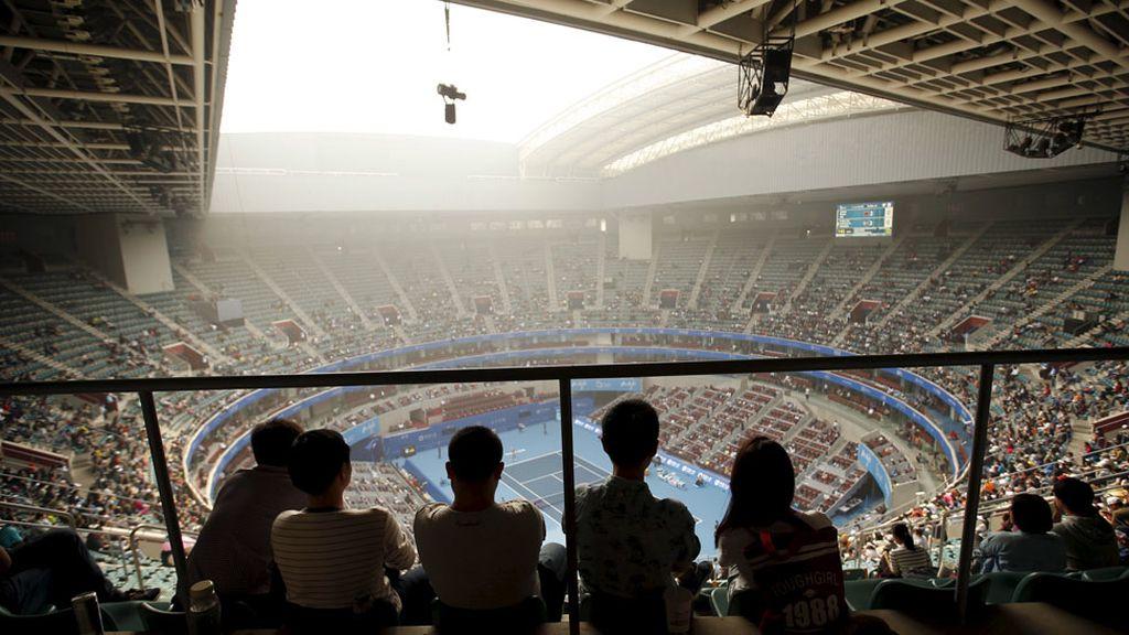 ¿De verdad se puede jugar al tenis con estos niveles de polución? (06/10/15)