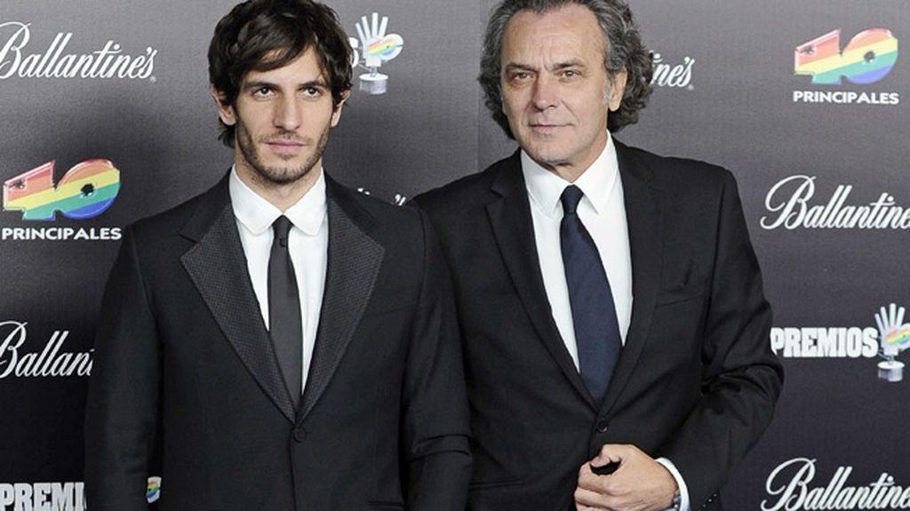 Quim Gutiérrez y José Coronado, dos gentlemen