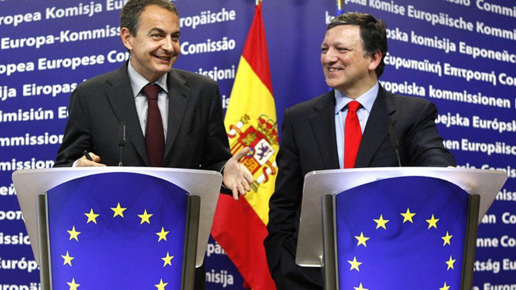 Barroso y Zapatero