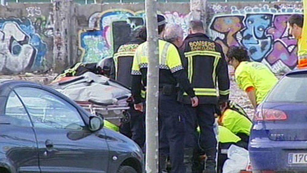 VÍCTIMA MORTAL EN BARCELONA