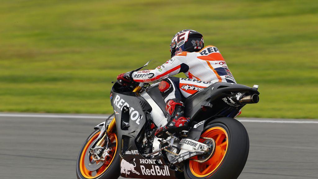 Márquez encabeza los cronos en el cierre del Test MotoGP de Valencia