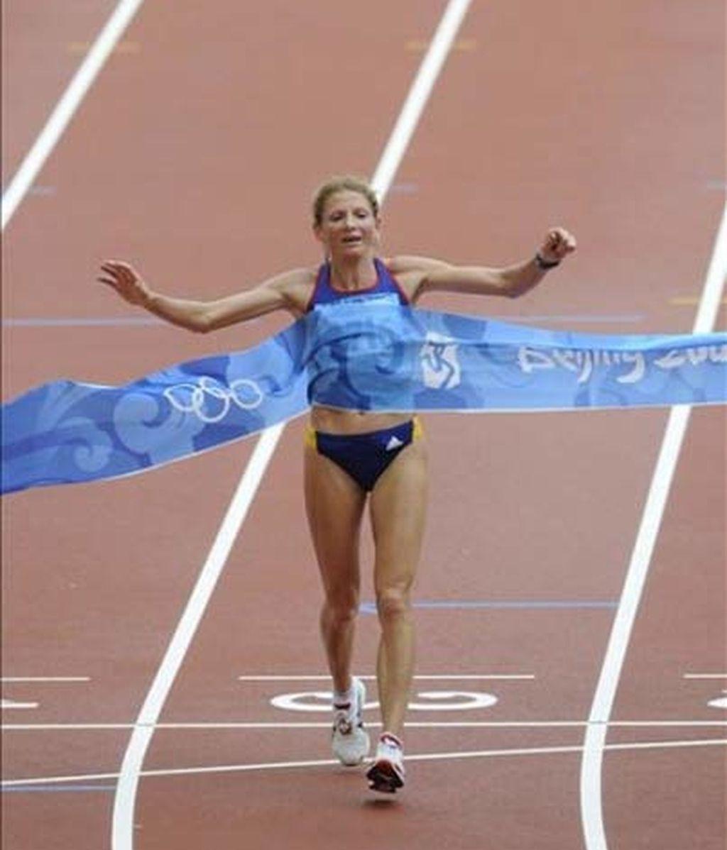 La rumana Tomescu , campeona olímpica de maratón