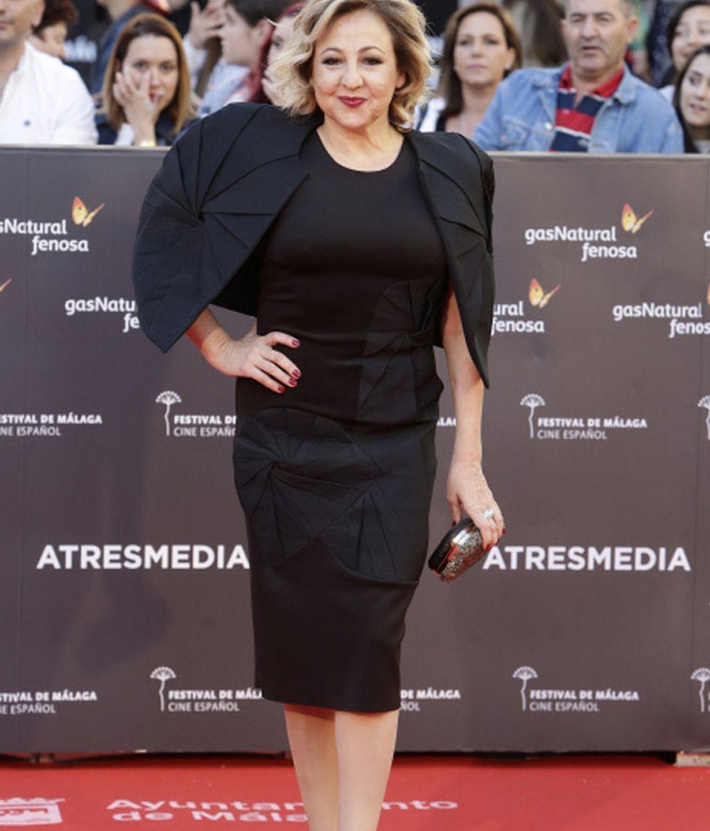 Carmen Machi en la presentación del Festival de Cine de Málaga