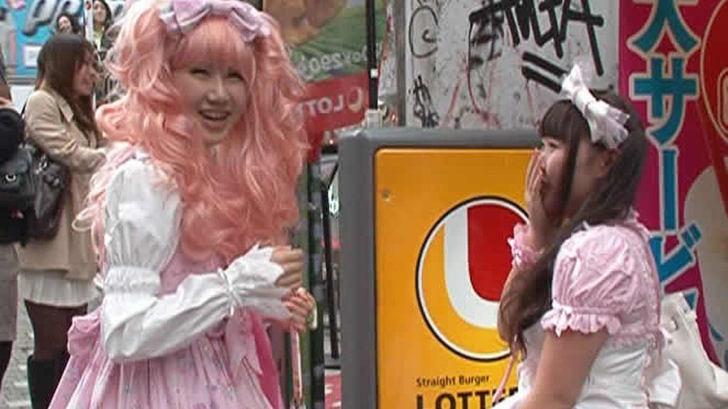 Princesas en las calles de Tokio