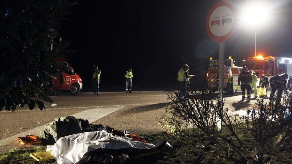 Accidente en Zamora