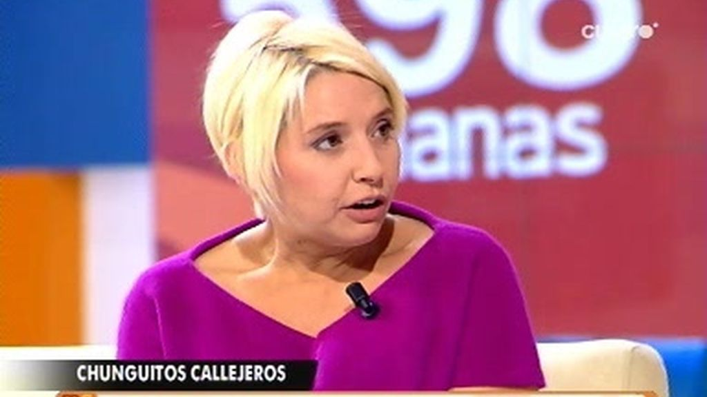 Beatriz Díaz, reportera de Callejeros, visita las Mañanas por el aniversario de Cuatro