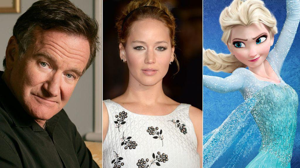 Un año de cine en Google: De Robin Williams a Jennifer Lawrence