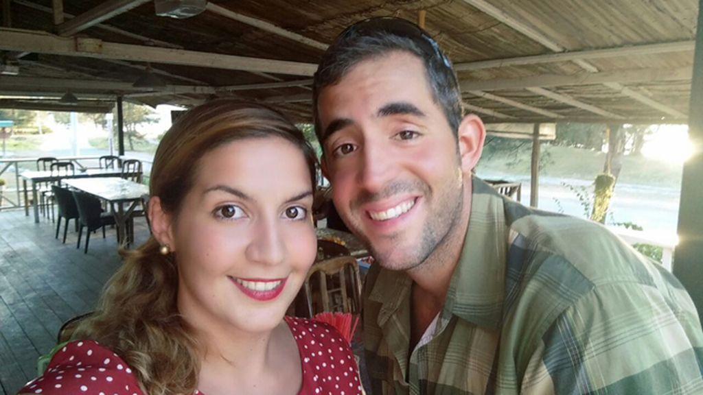 David Hernández y  Marta Miguel