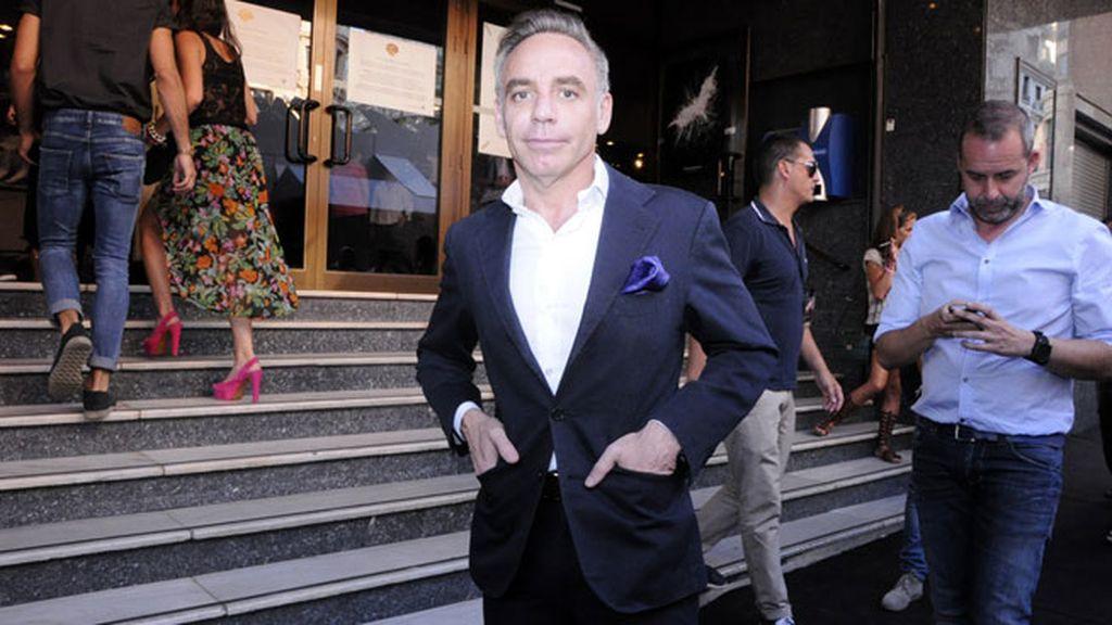 El arquitecto Joaquin Torres, un imprescindible en cualquier evento que se precie