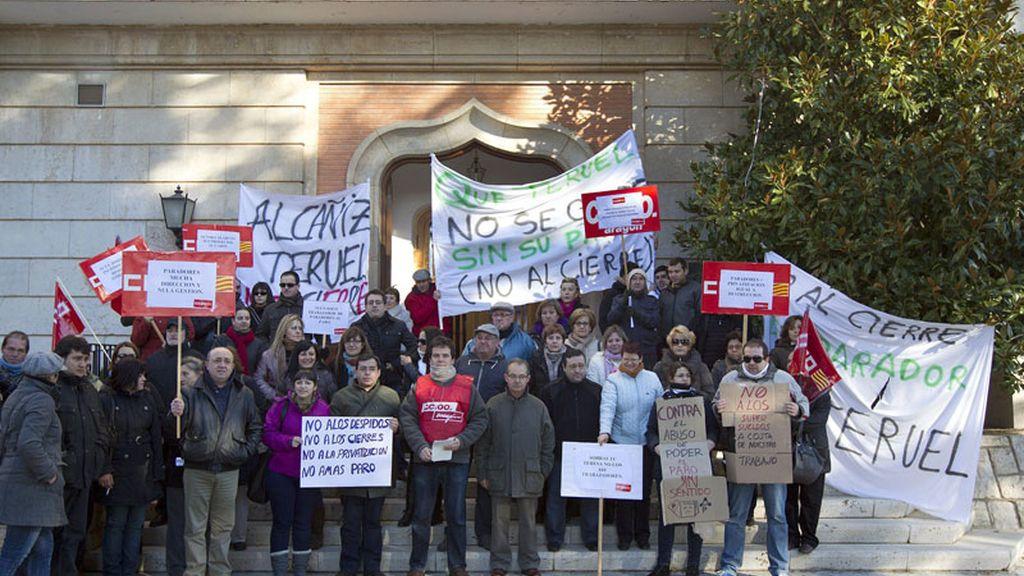 Trabajadores de Paradores de Teruel exigen una reunión urgente