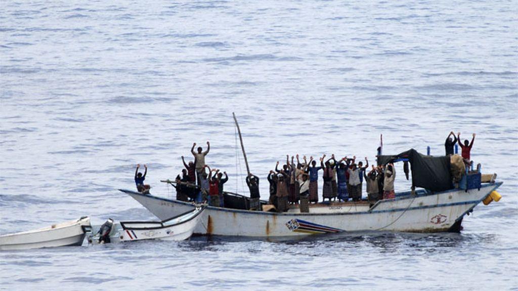 Los piratas en Somalia