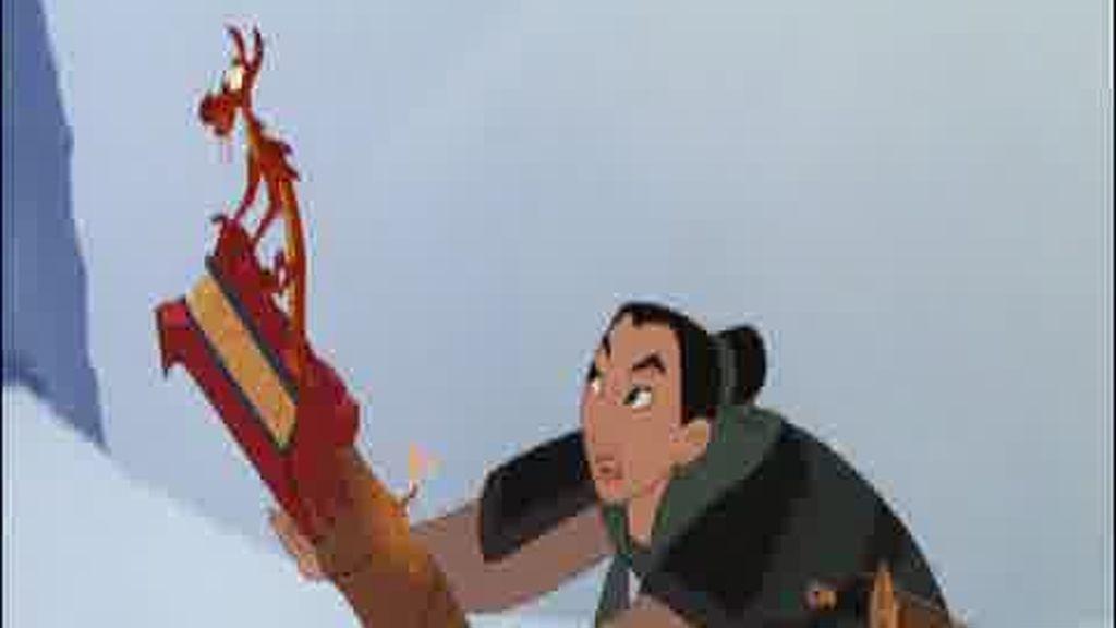 Promo Cine. Mulán: Puedes encender el fuego, pero sin Mulán no enciendas la Navidad