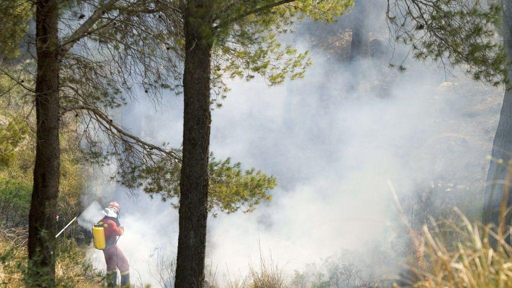 Incendio en Andratx (Mallorca)