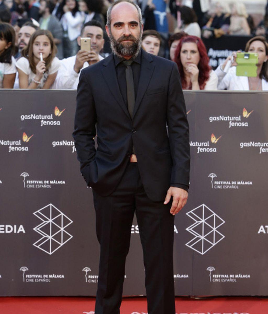 Luis Tósar en el Festival de Málaga con motivo de la presentación de 'Toro'