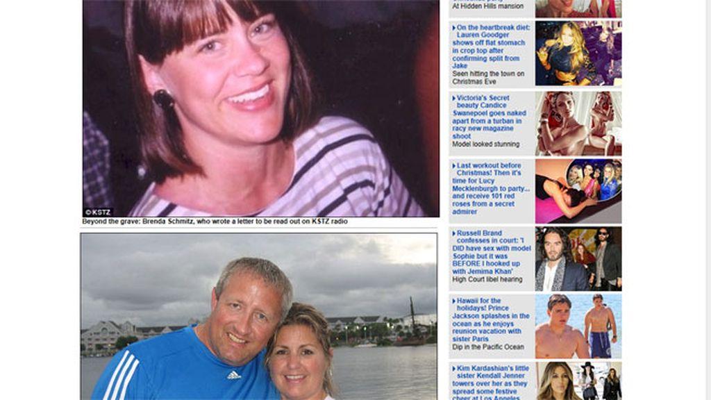 Brenda Schmitz conmociona las ondas con su emotiva carta de amor a su marido dos años después de su muerte