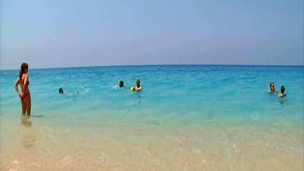 Playas en el Jónico