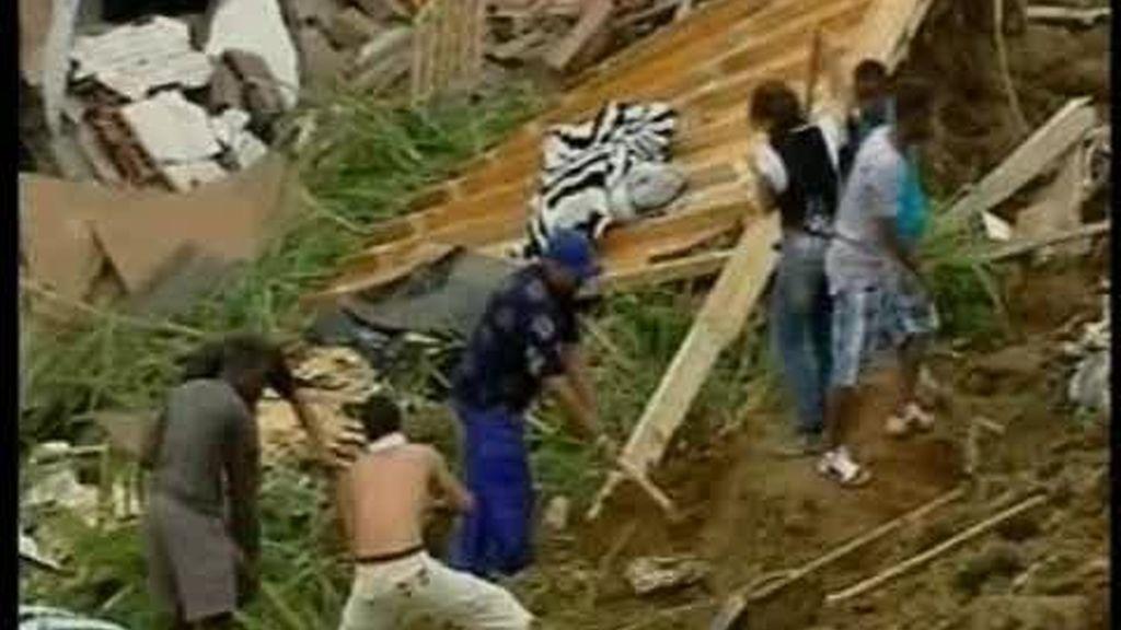 Las lluvias provocan la tragedia en Colombia
