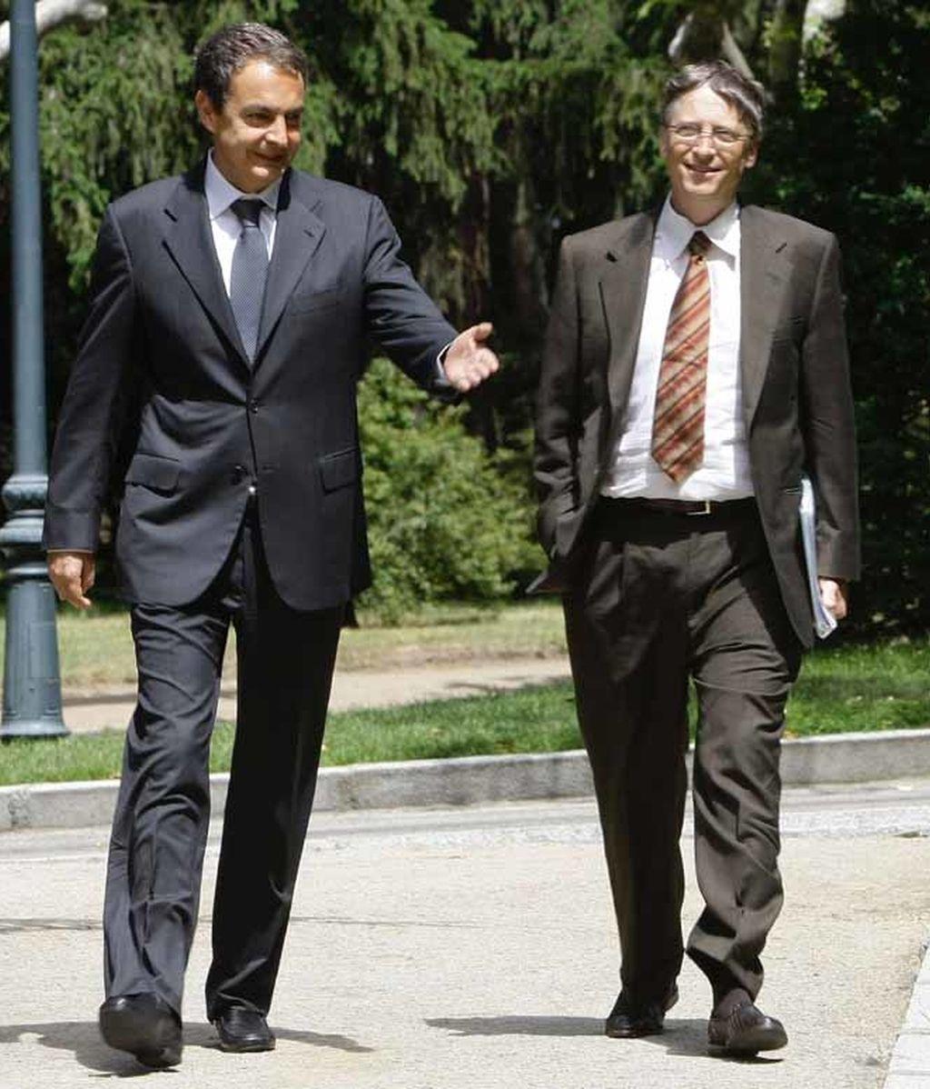 Zapatero y Gates contra la malaria