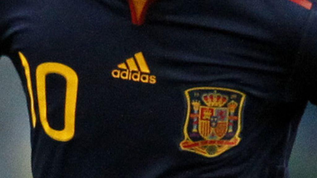 Camiseta azul de 'La Roja'
