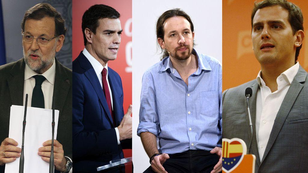 Los líderes que encabezan las encuestas
