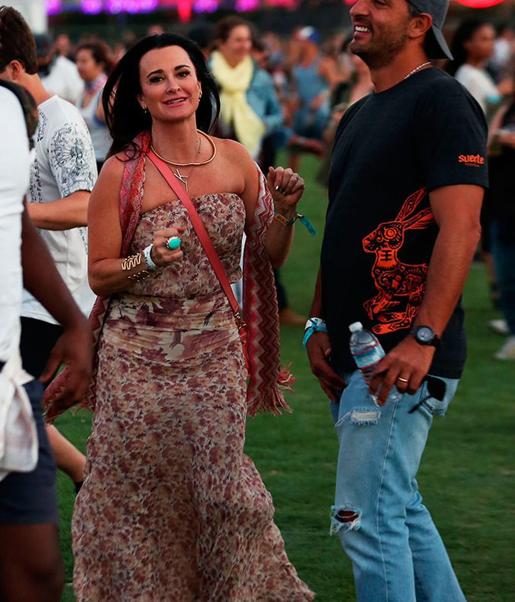 Kyle Richards y Mauricio Umansky
