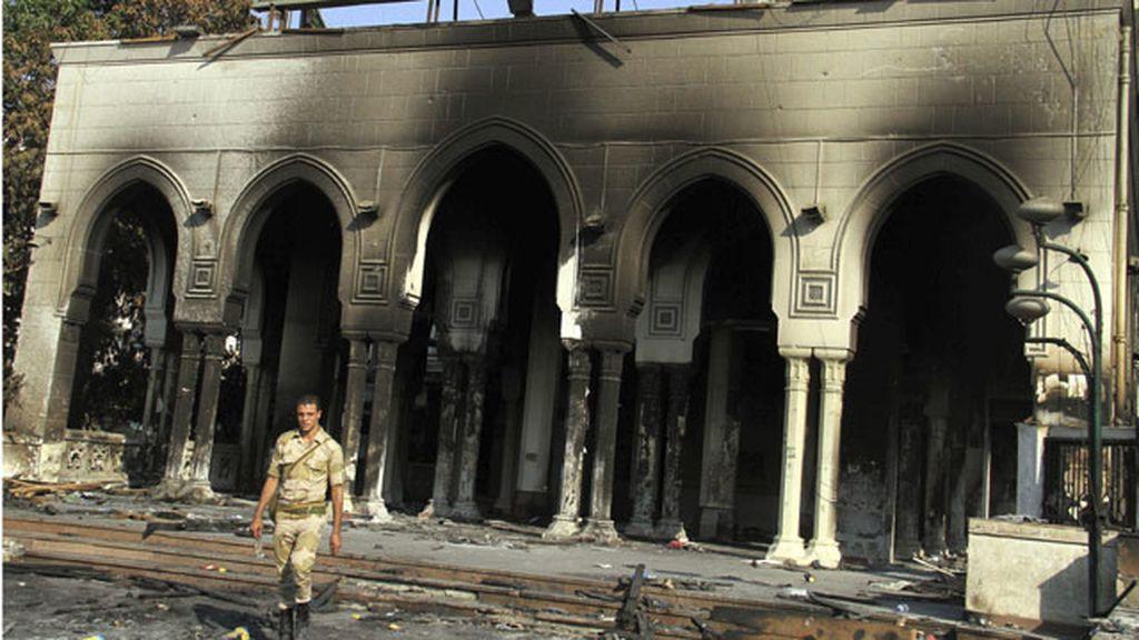 Institución egipcia atacada