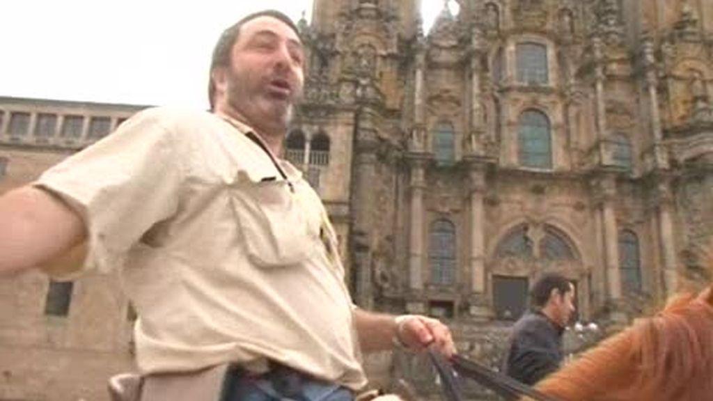 Camino de Santiago: Fin de Trayecto, Plaza del Obradoiro