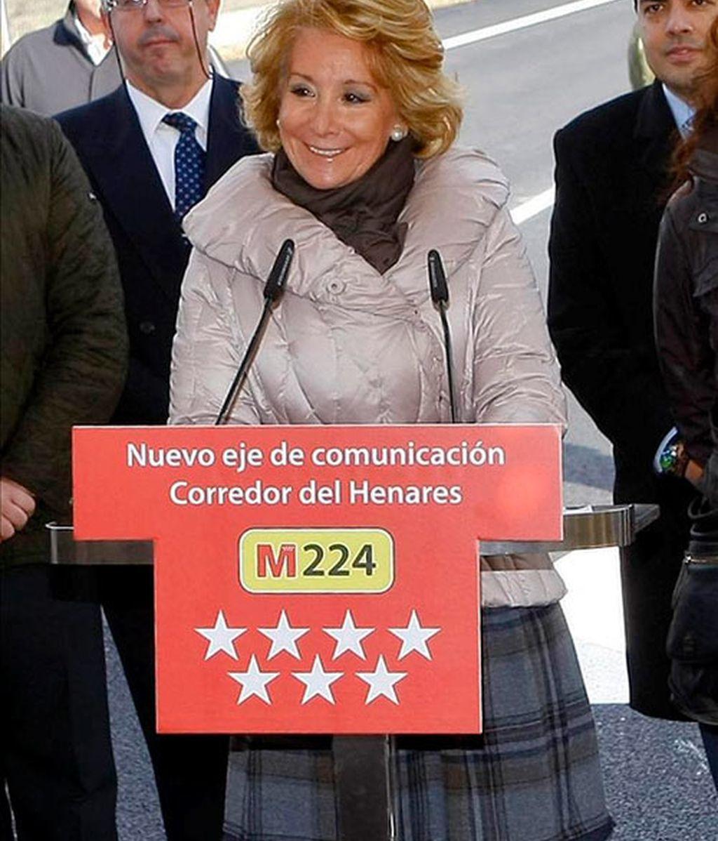 La espontaneidad de Esperanza Aguirre