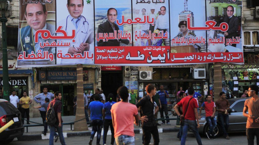 Egipto inicia sus primeras elecciones presidenciales desde el derrocamiento de Mursi