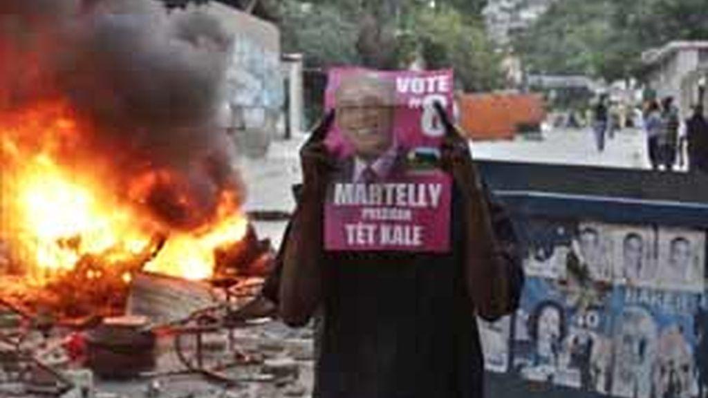 Protestas en Haití por el resultado de las elecciones