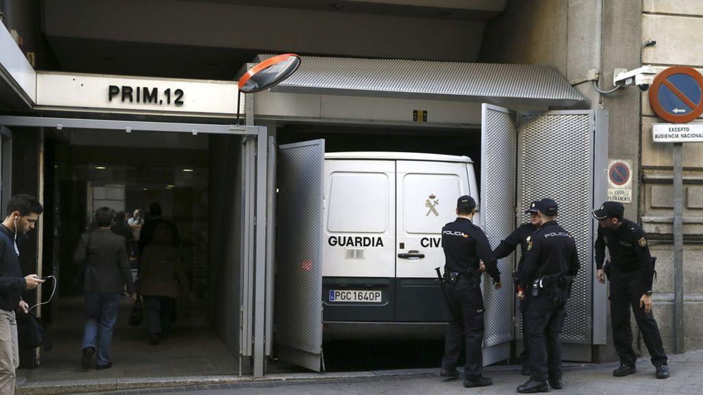Los detenidos en la operación Púnica ante el juez