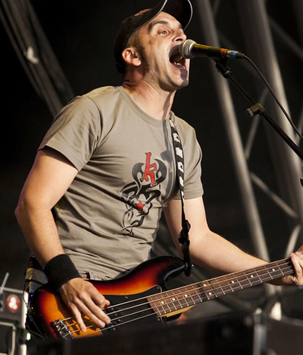 Placi (Segismundo Toxicómano) durante su actuación en Viña Rock