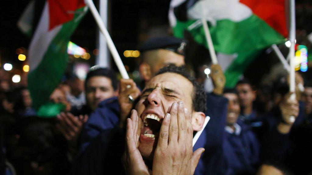 Euforia en Ramala tras la decisión de la ONU de integrar a Palestina como Estado Observador