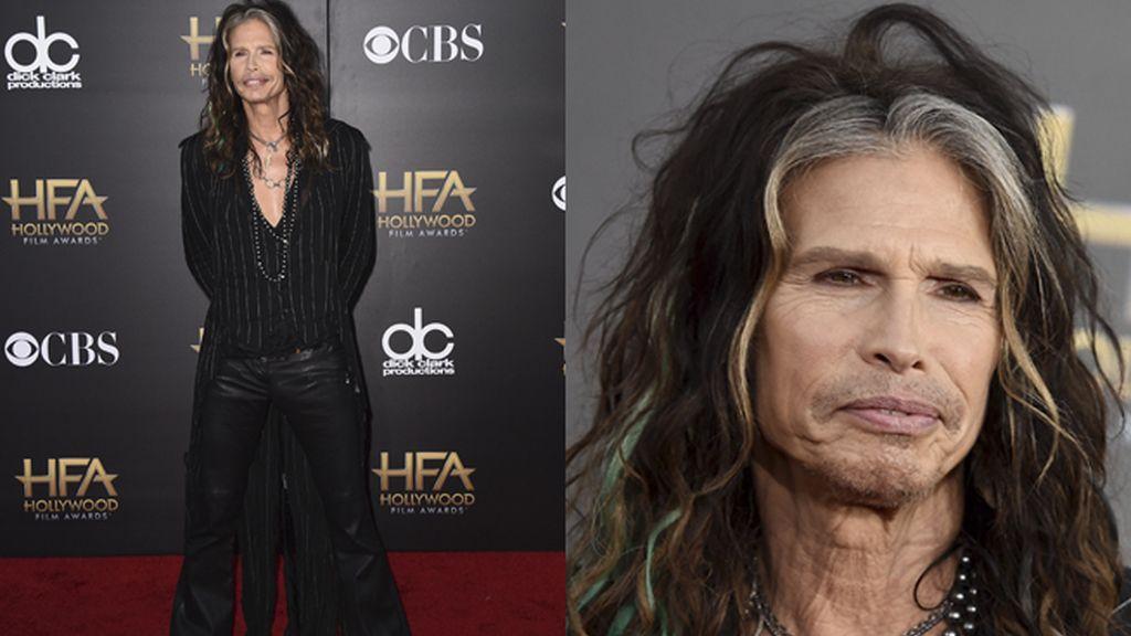 Steve Tyler, lider de Aerosmith e icono 'trans'