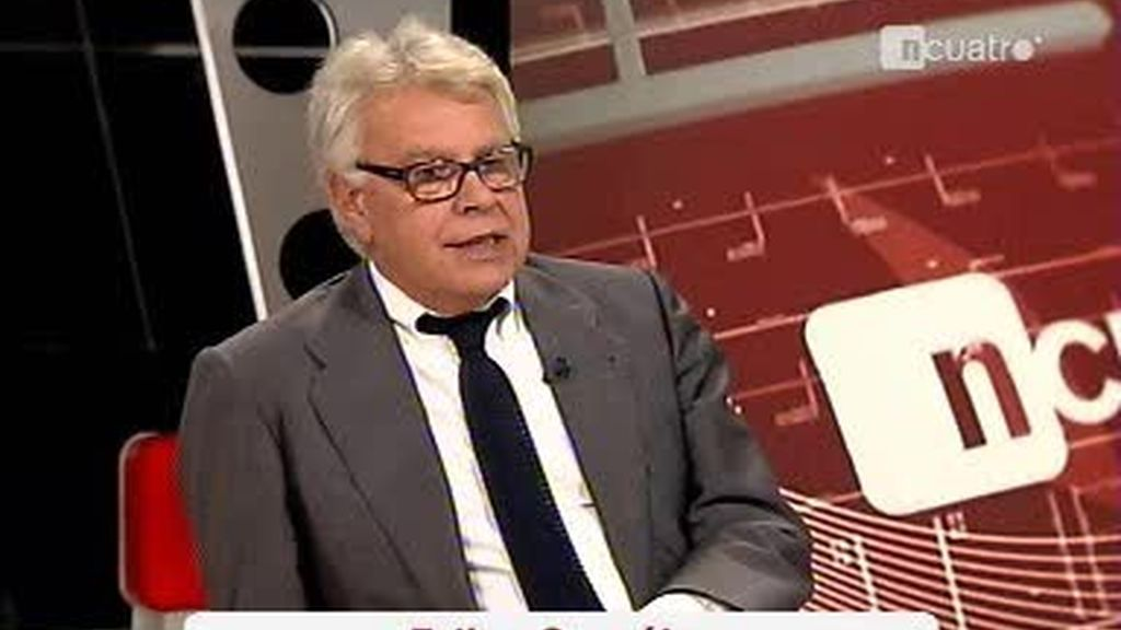 Iñaki Gabilondo entrevista al ex presidente del Gobierno, Felipe González (1 de 4)