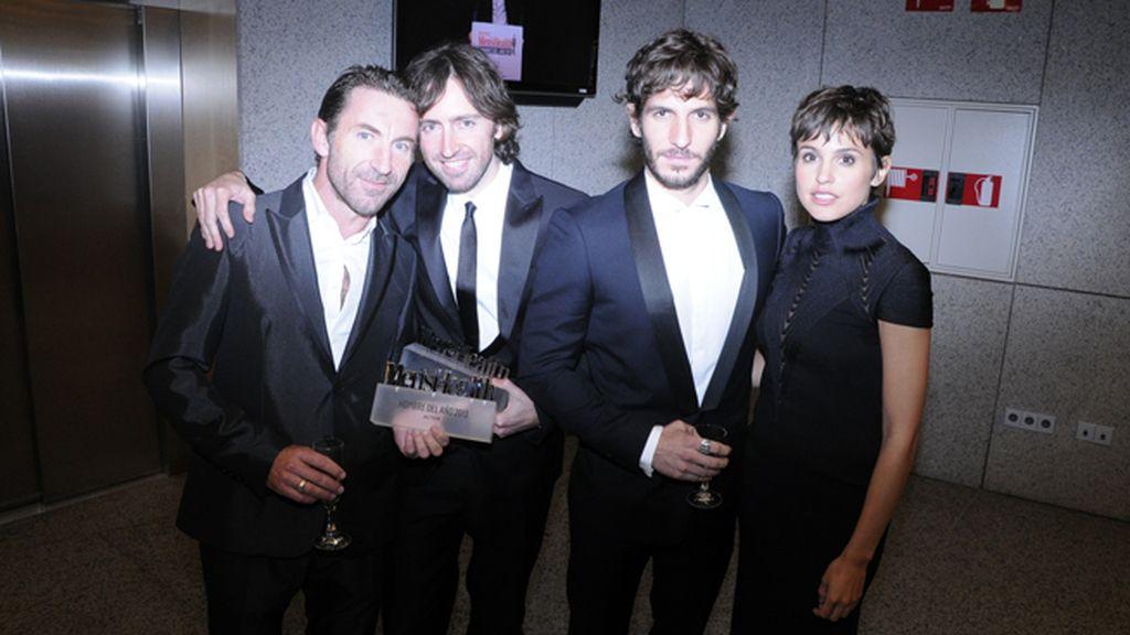Antonio de la Torre, Daniel Sánchez Arévalo, Quim Gutiérrez y Verónica Echegui