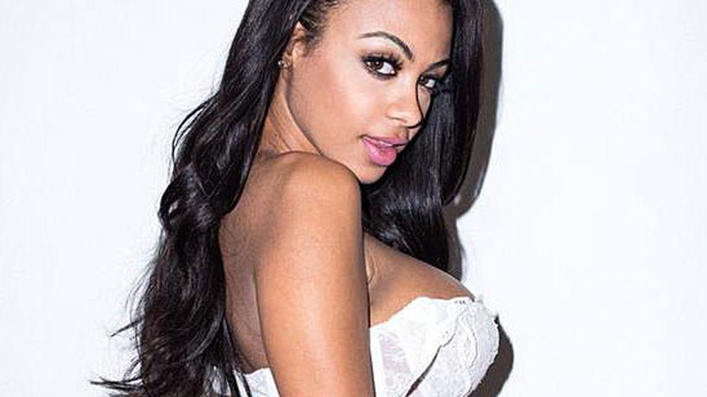 La modelo de Cabo Verde , ex-novia del futbolista Witsel
