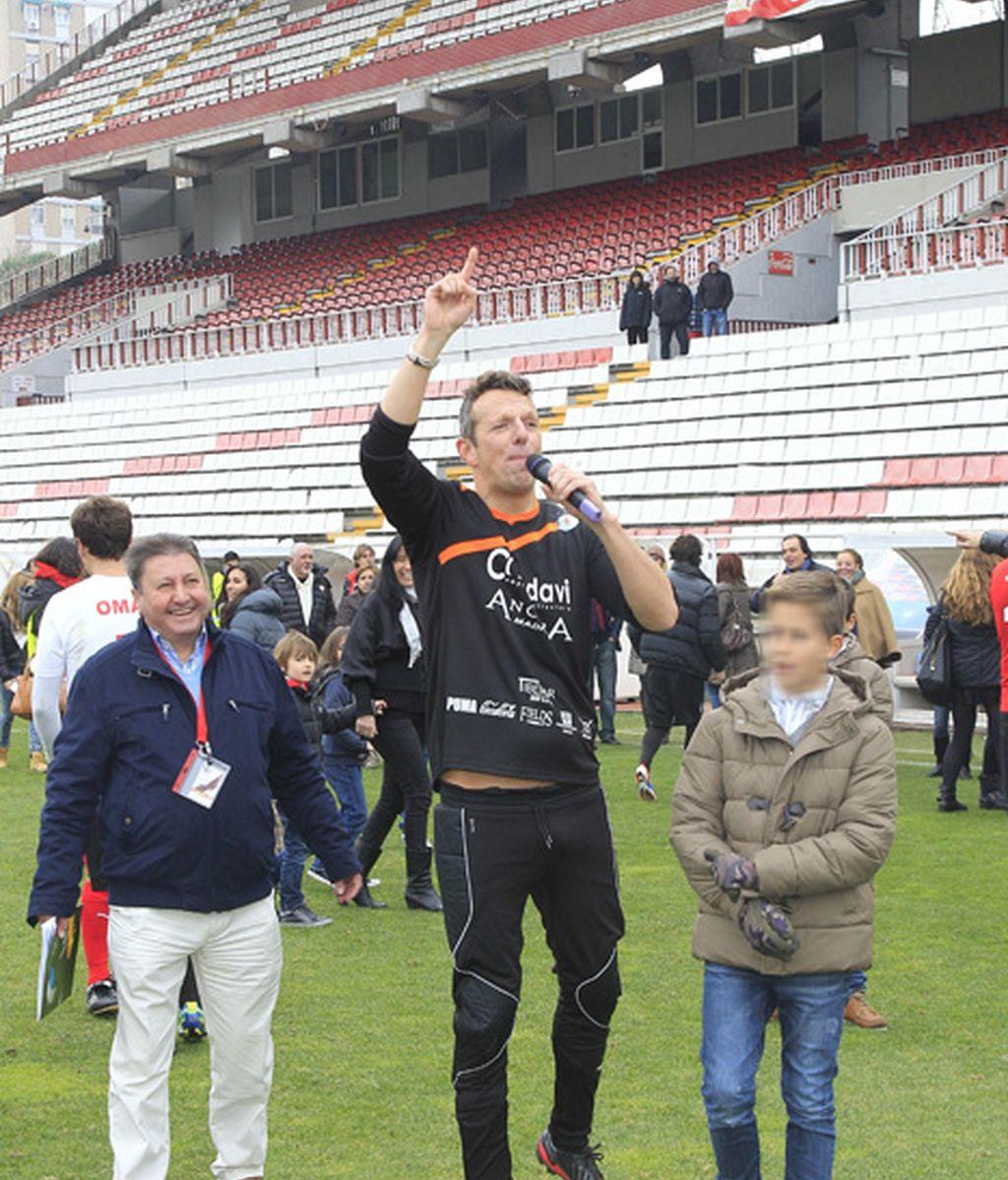Joaquín Prat, animando el cotarro