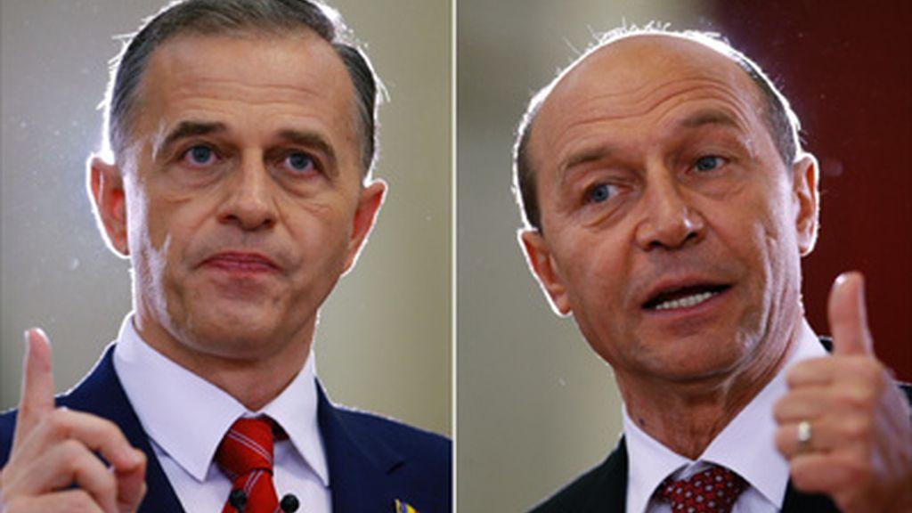 Elecciones en Rumanía: Geoana y Basescu