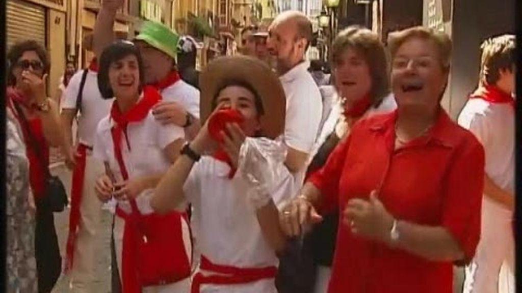 Fiesta doble en Pamplona