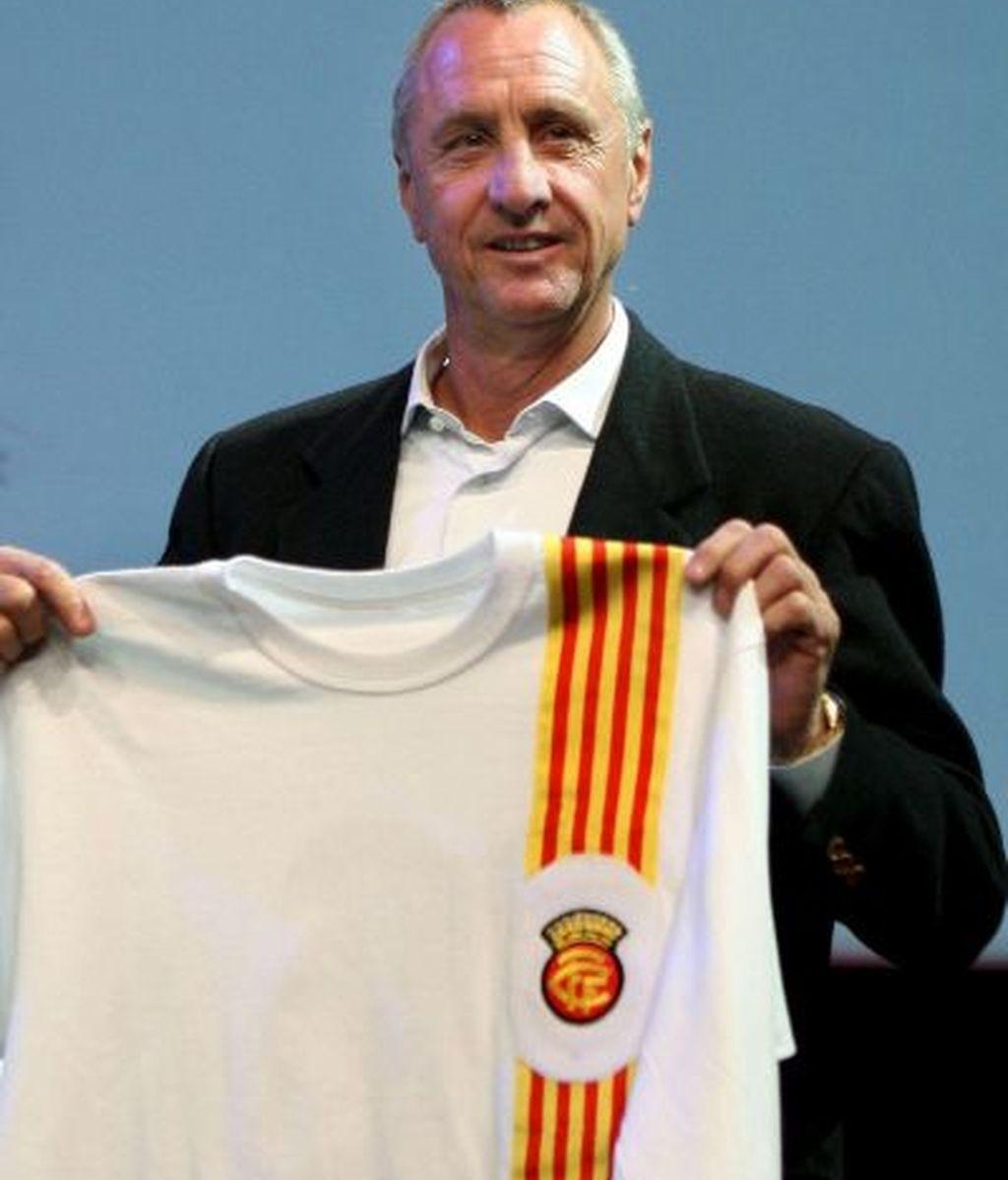 Johan Cruyff, nuevo seleccionador catalán