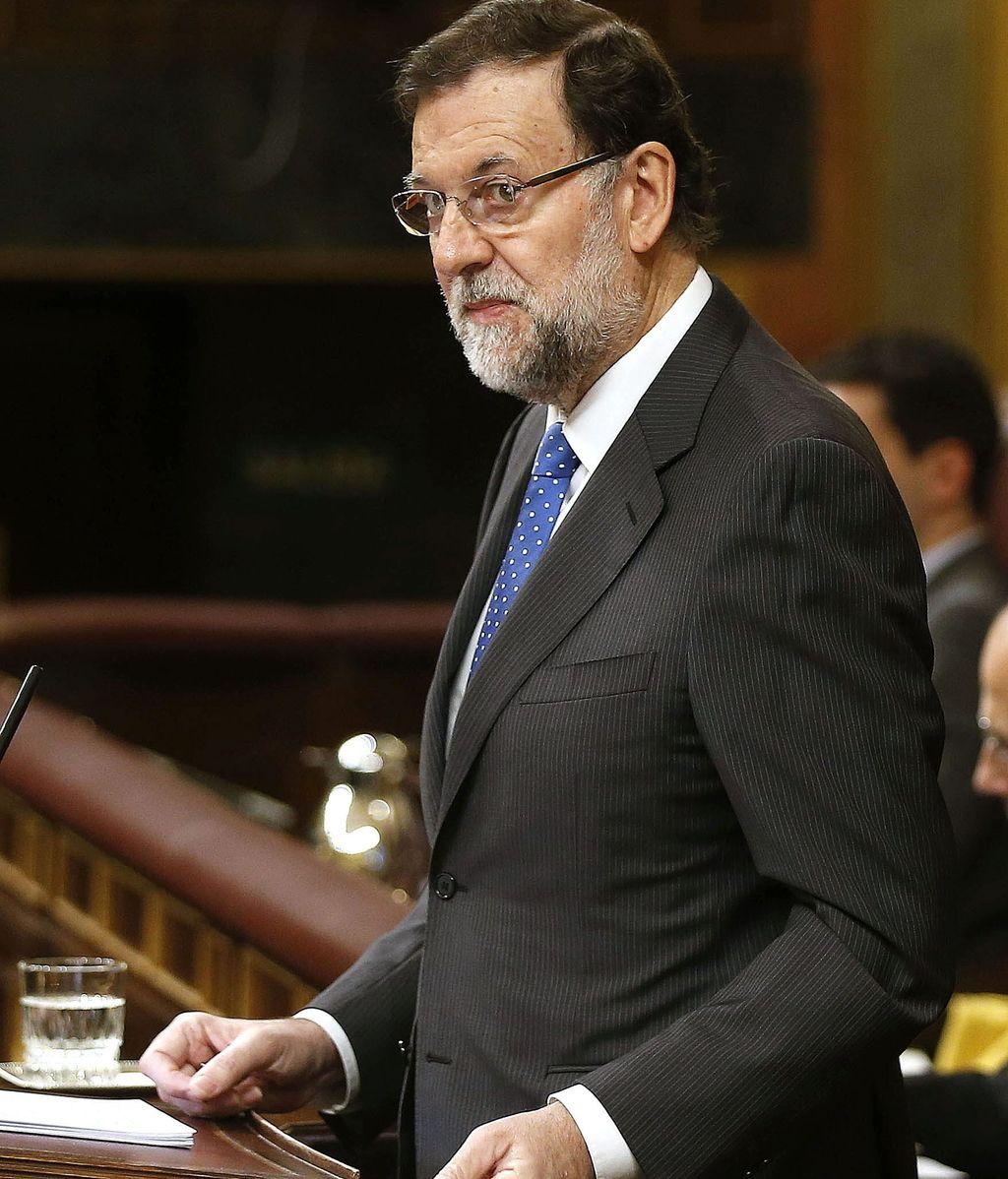 El presidente del Gobierno, Mariano Rajoy, comparece en el Congreso de los Diputados