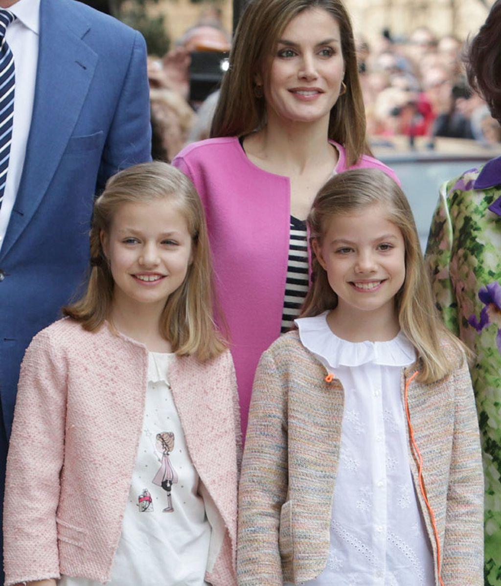 La familia Real ha sacado de sus armarios las prendas primaverales