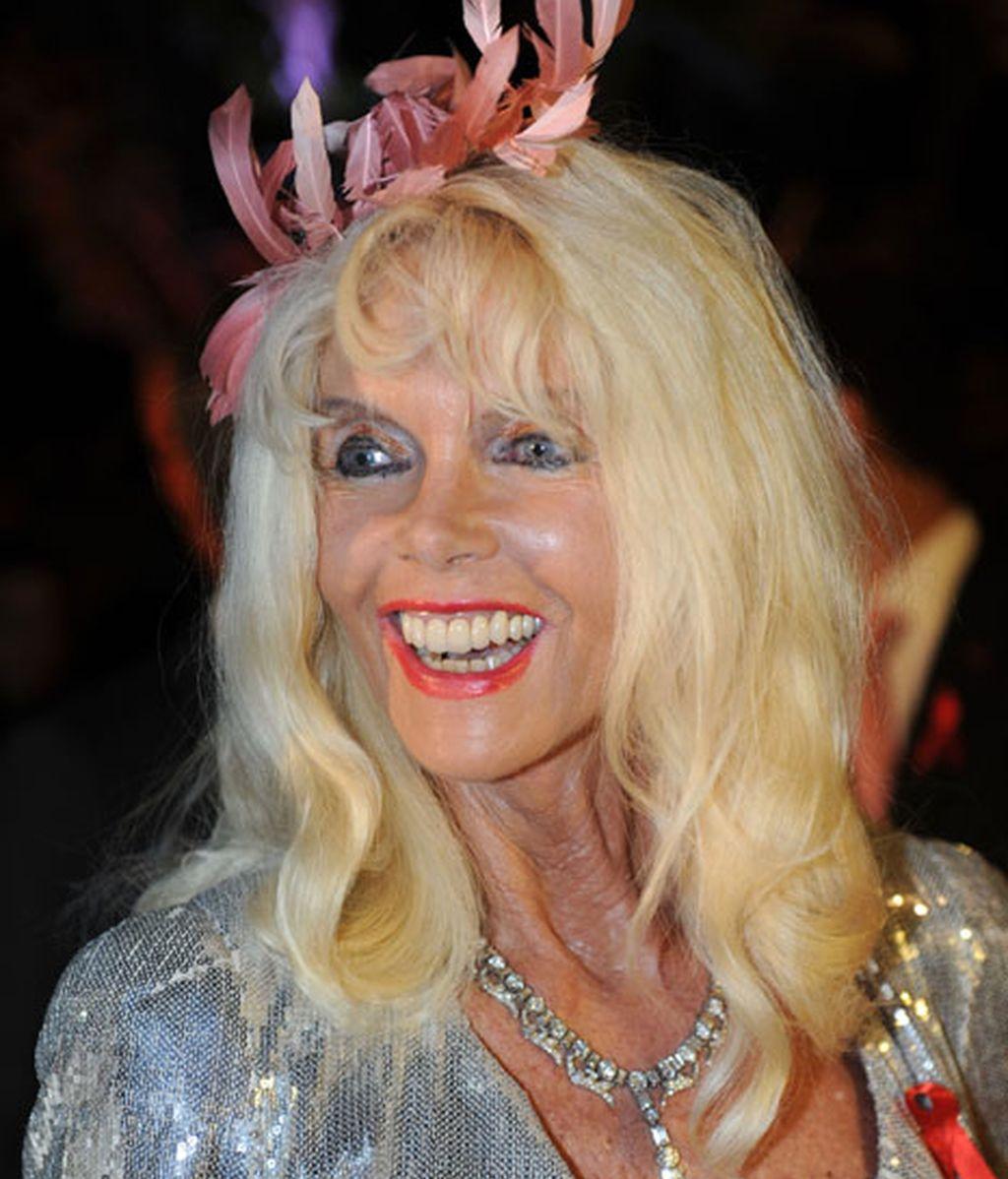 Gunilla Von Bismark rubia y bronceada: los años no pasan por ella