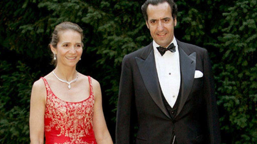 Los Duques de Lugo, la Infanta Elena y Jaime de Marichalar