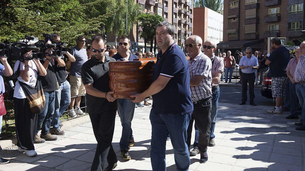 Funeral de Laura del Hoyo