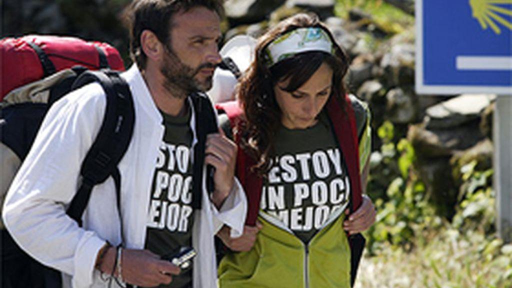 Malena Alterio y Fernando Tejero en un momento de ' Al final del camino'