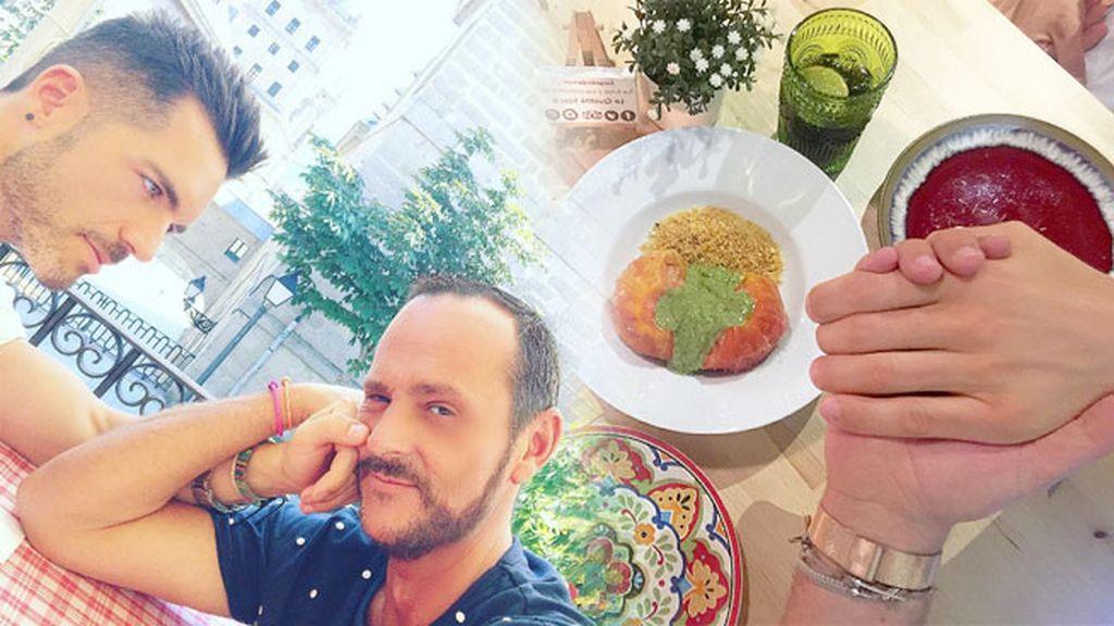 Almuerzos y cenas de novios en lugares románticos