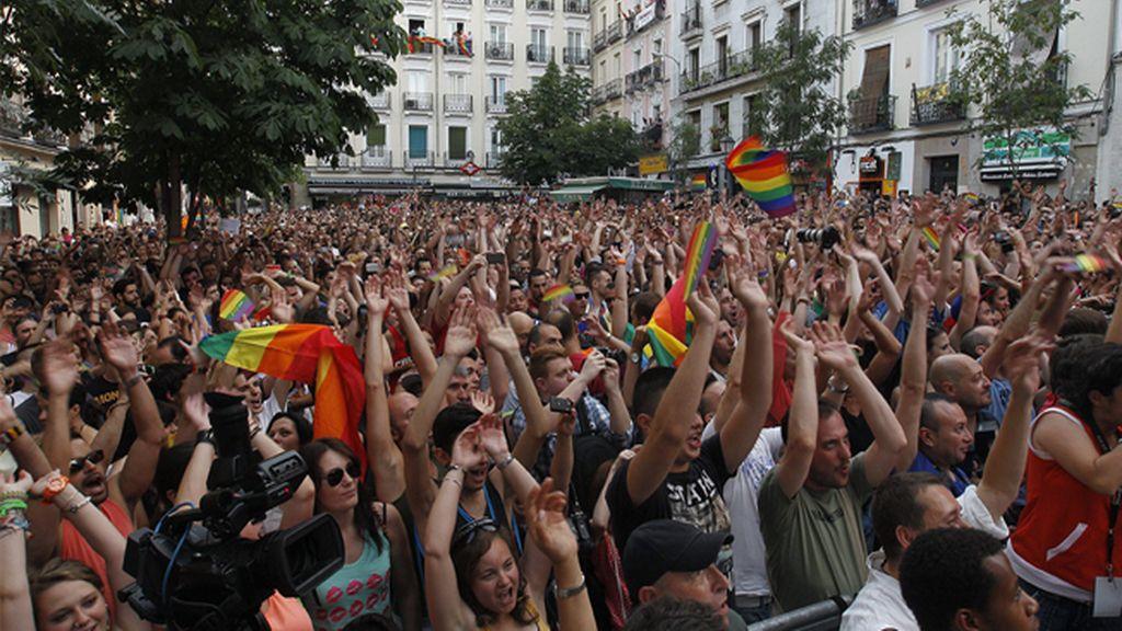 Comienza la fiesta del 'Orgullo Gay' en Madrid
