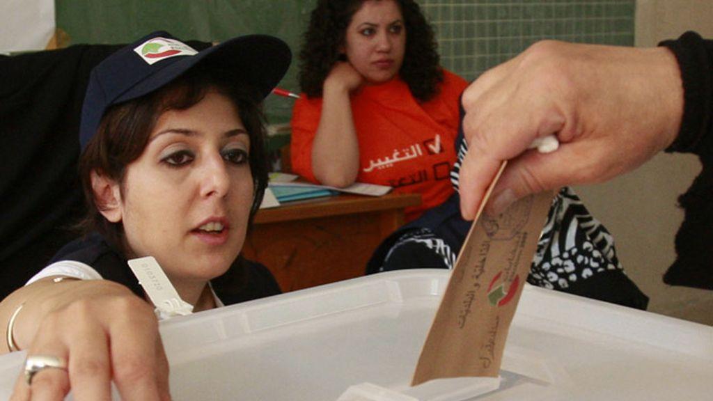 Líbano votaciones